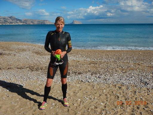 Swimrun wet suit by Colting