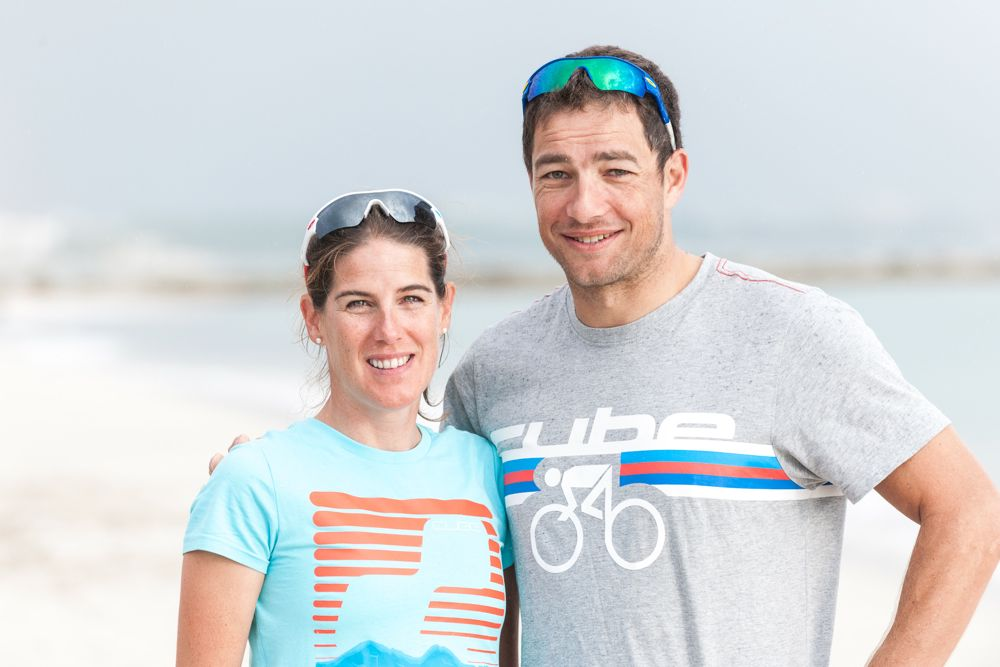 Nutrition Sport Fitness - triathletes Nicole and Lother Leder