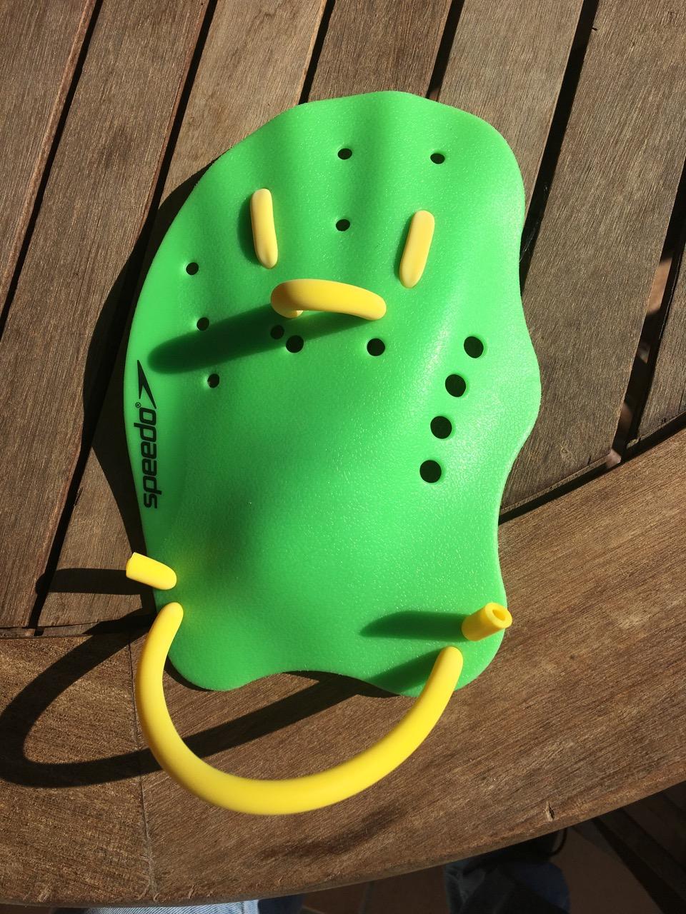 Swimrun paddles