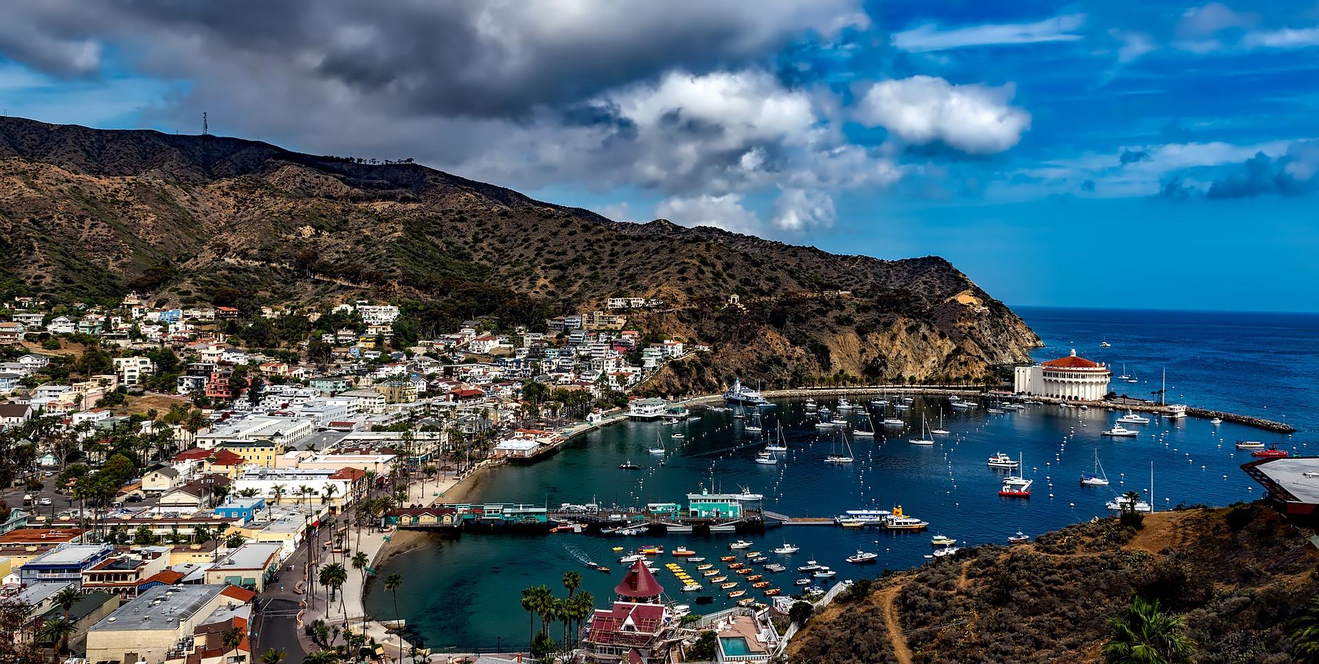 Swiwmrun Catalina Island